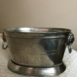 Solid Pewter Small Ice Bucket by Arte Italica